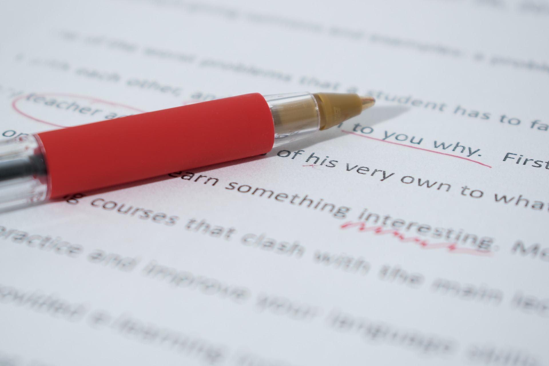 proofreading image